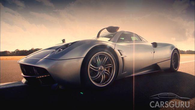 Итальянский автомобиль Pagani Huayra Roadster будет представлен в Женеве