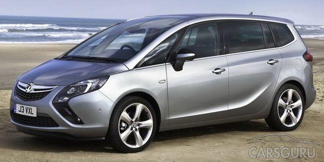 В Сеть попали фотографии нового Opel