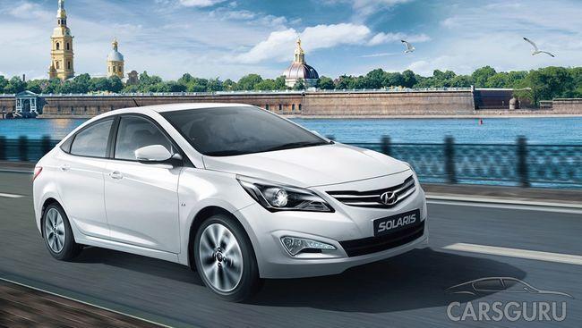 Самые популярные автомобили по версии автолюбителей Москвы и Санкт-Петербурга