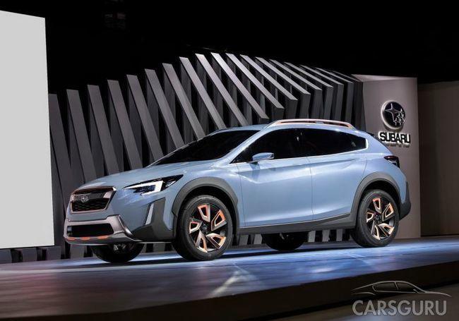 Презентация нового кроссовера Subaru XV 2017