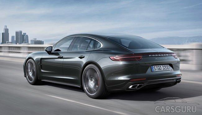Гибридная модель Porsche Panamera получит новый мотор