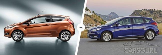 Ford в феврале 2017 года выпустит в продажу новые версии Fiesta и Focus