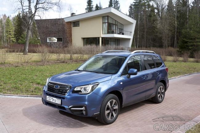 Subaru снизила цены на Forester и Outback 2017 года
