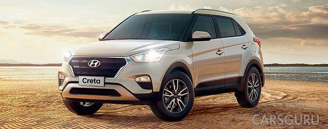 Внедорожник Hyundai Creta набирает популярность в России