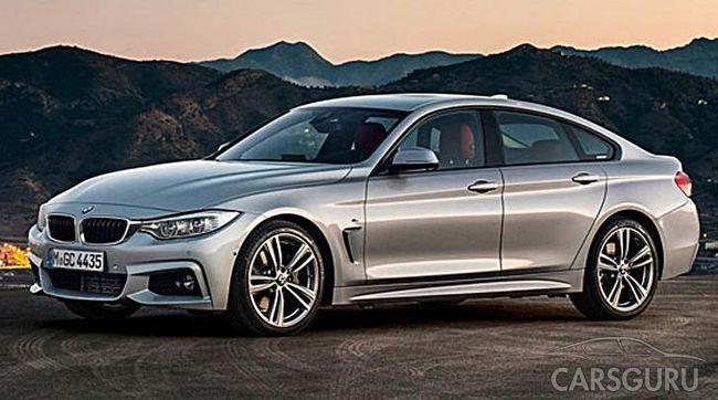 Обновленная модель BMW 4 серии