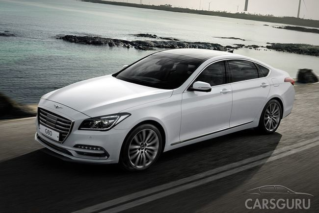 В России появится седан Genesis G80 с двигателем новой генерации
