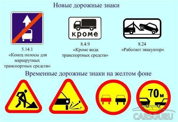 В ближайшее время в Москве появятся новые дорожные знаки