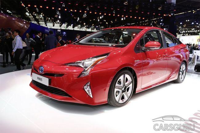 В Россию возвращается гибридный Toyota Prius