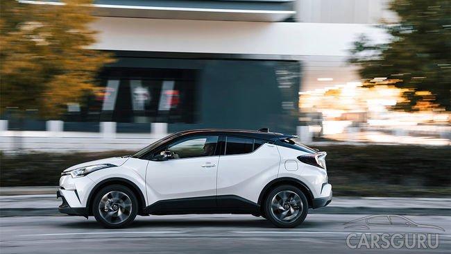 Toyota C-HR прошла сертификацию