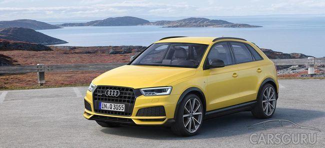 Новый автомобиль Audi Q3 будет представлен в двух версиях