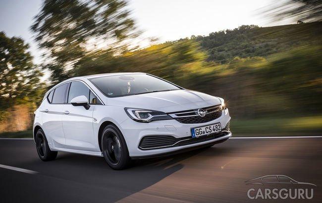 В Сеть попала информация об обновленном Opel Astra OPC Line