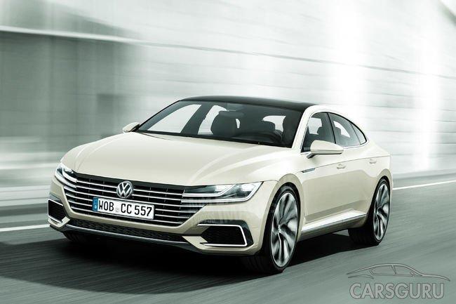 В России прекращены продажи Volkswagen Passat CC