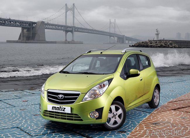 Лидером по реализации в России среди подержанных малолитражек стал Daewoo Matiz