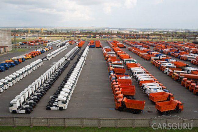 Произошло увеличение российского рынка грузовых автомобилей