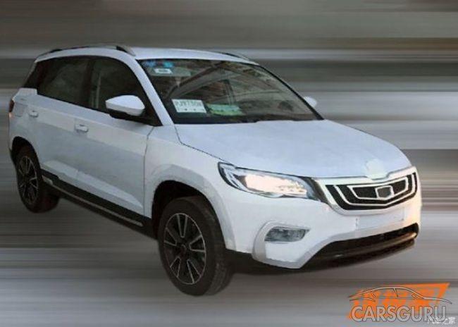 Обновленная Skoda Yeti была замечена на дорогах в Китае в кузове Geely