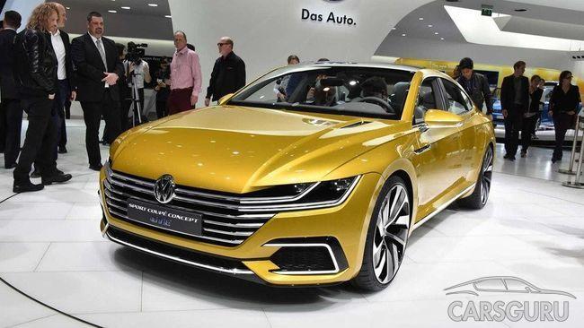 Впервые официально представлены тизерные фото Volkswagen Arteon