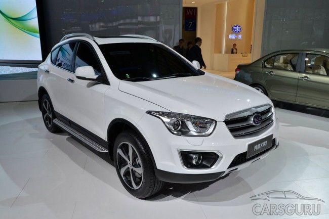 В Калининграде успешно запустили производство FAW Besturn X80