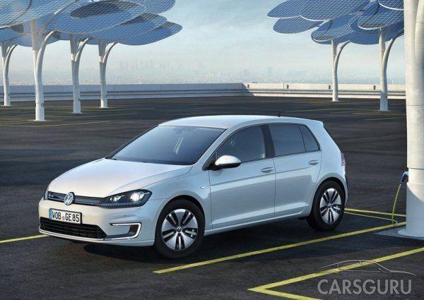 Volkswagen озвучил стоимость модифицированного E-Golf