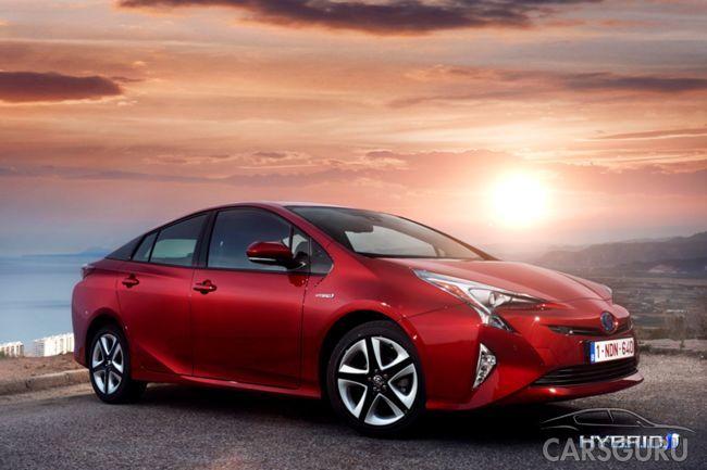 Toyota Prius доступна для предзаказа