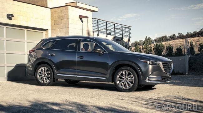 Обновленная Mazda CX-9 скоро появится в Росси