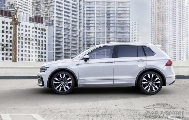 В России состоялся старт продаж нового Volkswagen Tiguan