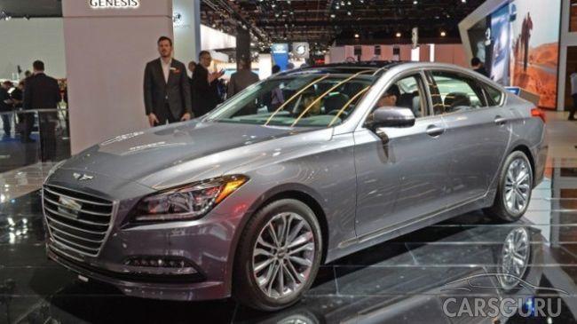В России появится Hyundai Genesis G80 с двухлитровым мотором