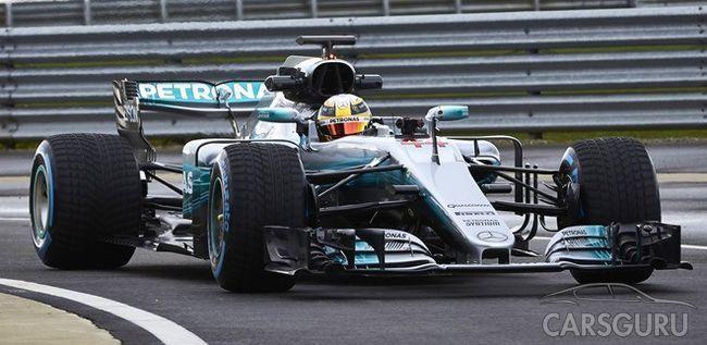 Состоялась презентация нового автомобиля W08 на сезон-2017 Формулы-1