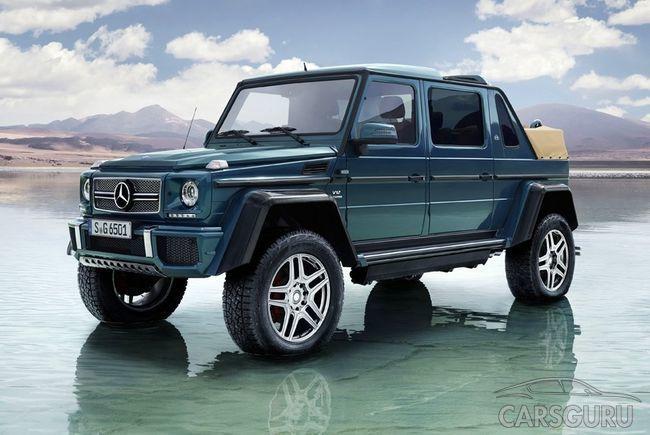 Стали известны подробности о Mercedes-Maybach G 650 Landaulet