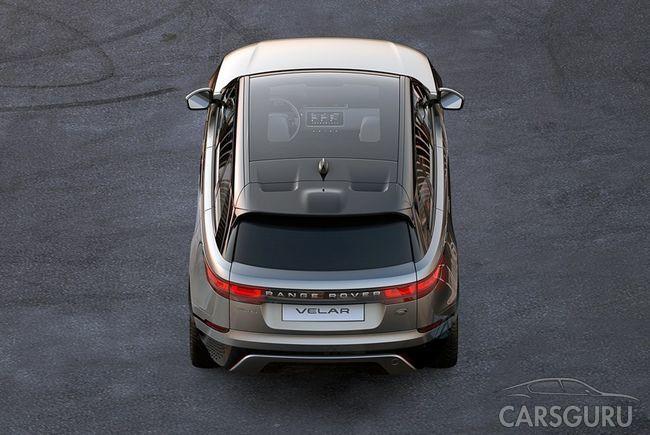 Появились первые данные о Range Rover Velar