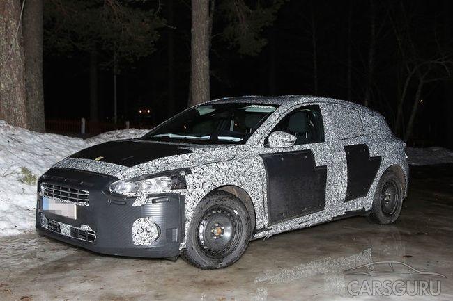 Проходят первые испытания обновленного Ford Focus