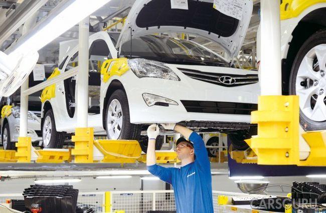 Hyundai Solaris запущен в массовое производство на петербургском заводе
