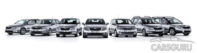Скоро модельный ряд Skoda пополнится 4 новыми экземплярами