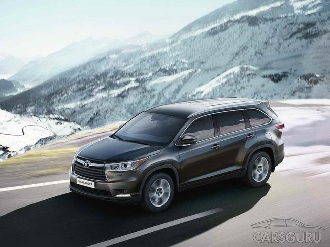 В России стартовали продажи Toyota Highlander