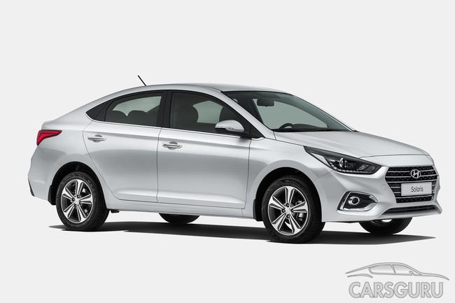 Hyundai Solaris второго поколения для России