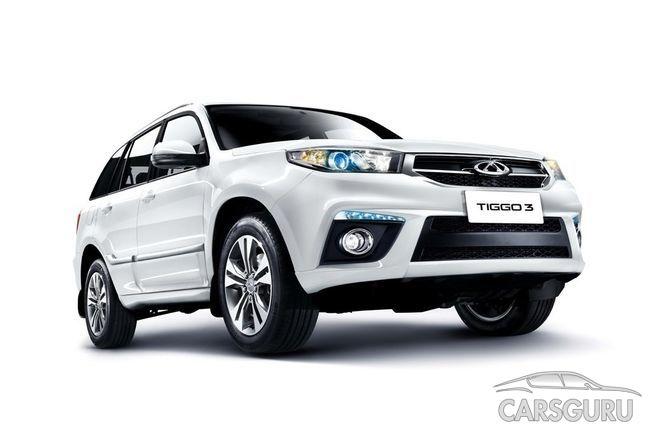 Китайский автомобильный концерн Chery огласил стоимость нового кроссовера