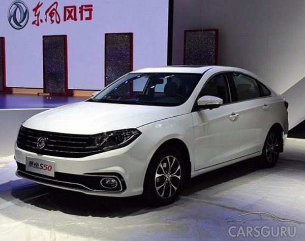 DongFeng представляет рынку КНР обновленный седан