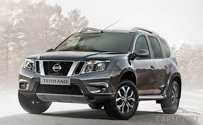 Сеть облетели первые фото Nissan Terrano