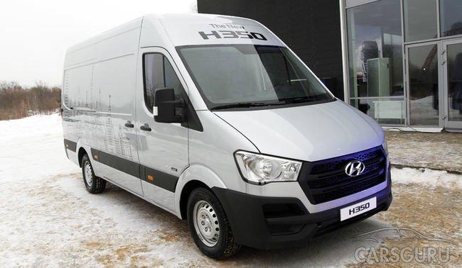 Hyundai демонстрирует новый фургон