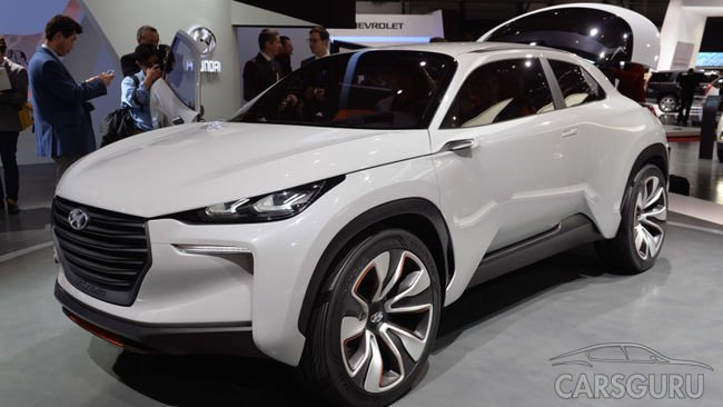 Вскоре представят новый кроссовер Hyundai Kona