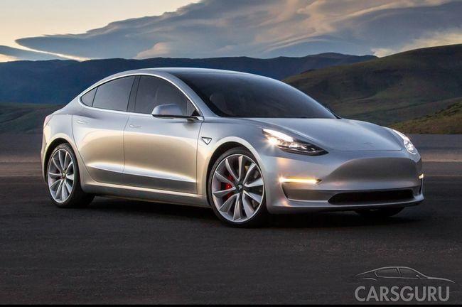 Запущено производство самой дешевой модели Tesla