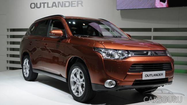 Стала известна стоимость обновленного Mitsubishi Outlander
