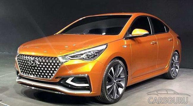 В Сети появились первые фото Hyundai Solaris II