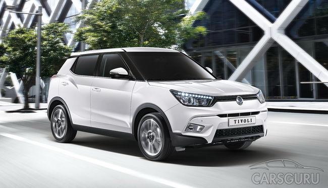 В Санкт-Петербурге начали продавать автомобили SsangYong