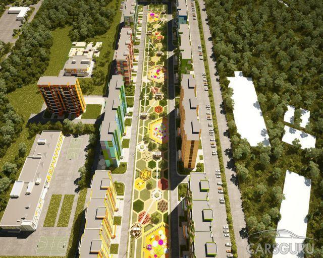Дворы в новостройках Москвы будут несовместимы с парковкой