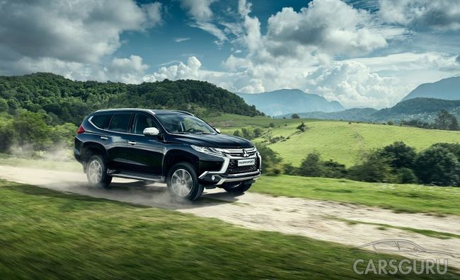 Впервые на рынке России Mitsubishi Pajero Sport с дизельным мотором
