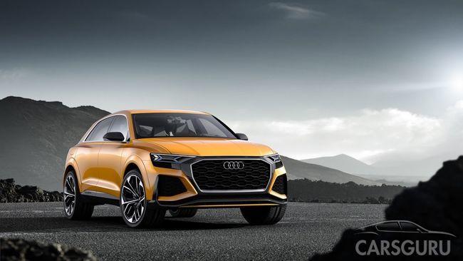 Состоялась презентация нового Audi Q8 Sport Concept