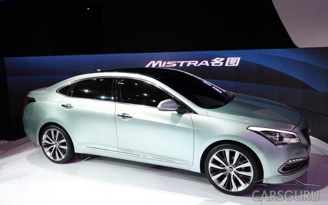 Hyundai выпустит седан для китайских автомобилистов