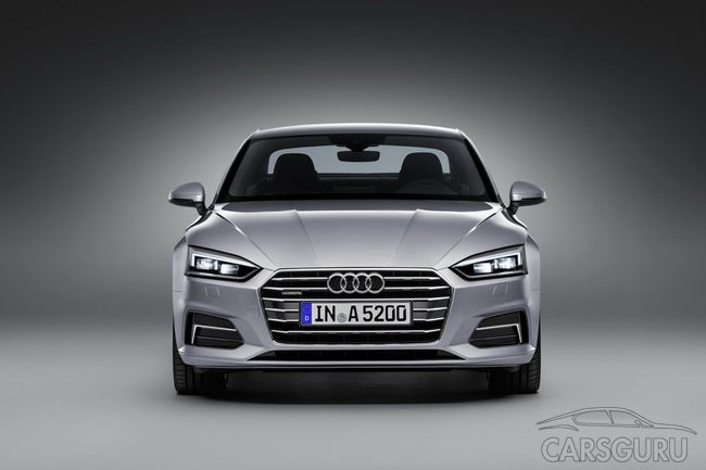Оглашена стоимость Audi A5 Coupe