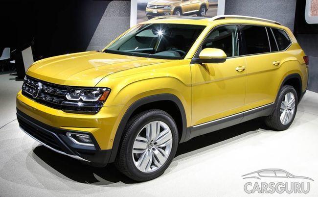 Стала известна дата премьеры Volkswagen Teramont