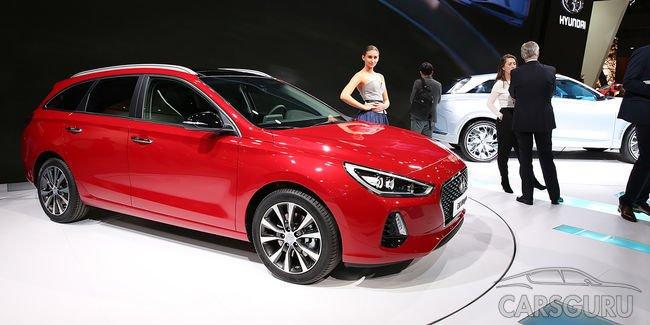 В Женеве прошла презентация обновленного Hyundai i30 SW